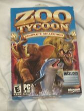 Zoo Tycoon: Complete Collection (PC, 2003) microsoft 2 disc set               A2
