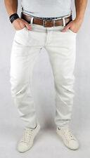 G-Star Herren Jeans Arc 3D Slim Coj, Beige Weiss Kedo Twill W29 (W30) L30