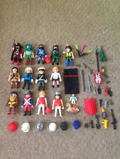PLAYMOBIL FIGURES AND ACCESSORIES OVER 50 PIECES GOOD CONDITION LOT 1