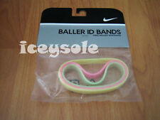 Nike Basketball Baller Bands Band Neon Colors 3 Pack
