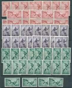 [PG73] Ifni 1961 sport with football good set very fine MNH stamps (20x)