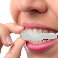 Cosmetic Dentistry Snap On Instant Perfect Smile Comfort Fit Flex Teeth Veneers&