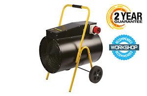 Olympus JetHeat – Industrial Fan Heater 3PH OLY-J15/3 15KW + Cable