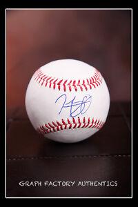 GFA Boston Red Sox HENRY OWENS Signed MLB Baseball H2 COA