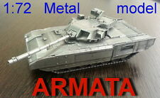 1/72 Exclusive T-14 ARMATA АРМАТА Russian Tank full metal best quality Rare 2017