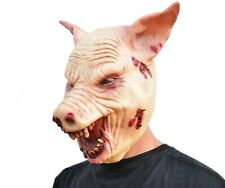 Scary Halloween Pig Mask Ritual Saw Pig Wrong Turn Costume Slaughter Mask