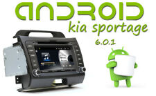 "Android 10"" GPS AUTORADIO per KIA SPORTAGE SCHERMO 7"" DVD TOUCH USB MP3"