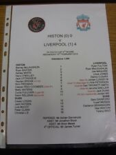 13/02/2013 Histon Youth v Liverpool Youth [FA Youth Cup] (Produced After Game Wi