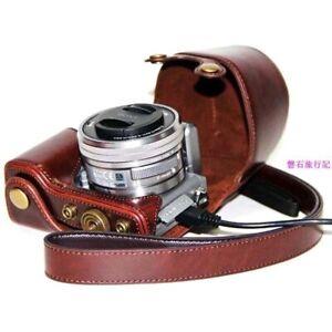 For sony nex-5t case camera bag leather case bag