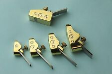 5pcs various size Mini brass planes new style, Woodworking plane