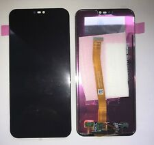 VETRO DISPLAY LCD TOUCH SCREEN già Assemblati PER HUAWEI P20 LITE NERO ANE-LX1