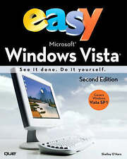 NEW BOOK Easy Microsoft Windows Vista by Shelley O'Hara
