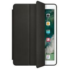 Apple iPad Mini 1st 2nd 3rd Gen Genuine Leather Smart Case Cover Black / Brown