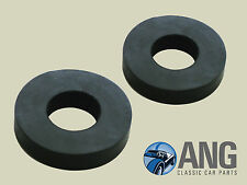 TRIUMPH STAG MkI & II RADIATOR TOP MOUNTING RUBBER WASHERS x 2 (GEX7330)