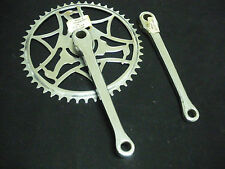 "Vintage Raleigh bicycle bike Chainwheel Set 48T  7""arm 1960s NOS made in England"