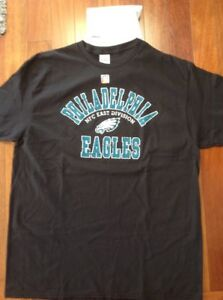 Philadelphia Eagles Mens XLarge NFC East Division Champions Short Sleeve Tee New