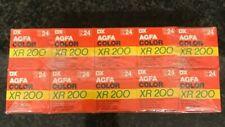 10x Agfa XR 200 24exp 35 expired film kodak fuji perutz ilford lomo