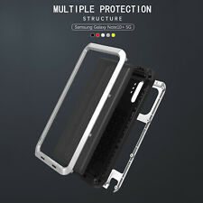 For Samsung Galaxy Note 10 Plus Case LOVE MEI Military Shockproof Aluminum Cover