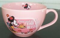 MINNIE MOUSE Pink Mug Coffee Cup COME AND GET IT! TIME FOR DESSERT! Disney Store
