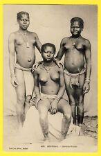 cpa Précurseur SÉNÉGAL Cérères Nones JEUNES FILLES NUES NAKED GIRL Ethnic Nude
