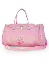 Children's Pink Mini Dance Holdall with Ballet Shoe Motif- RVPOINTE
