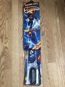 Vintage 1996 Superman Figure Kite Spectra Star  Over 4Ft. Tall