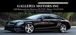 Galleria Motors Houston