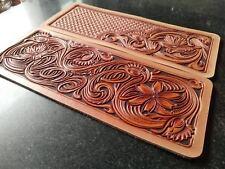 Leathercraft Patterns DIY Designs Short Wallet Paper Template Drawing Tool 6003
