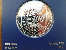 """france 100 euros argent 2014 """"coq"""""""