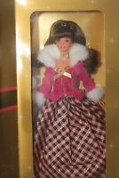 Mattel 16873 Winter Rhapsody Barbie Doll Brunette AVON Exclusive