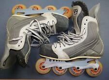 Damaged Nike Quest 2 Q2 Street Hockey Inline Roller Skates Rollerblades 9D Used