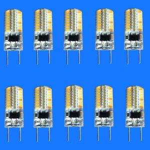10x G8 T4 led bulb 64-3014 120V Warm White for under counter kitchen lighting H