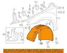 VW VOLKSWAGEN OEM 15-18 Golf SportWagen-Fender Liner Left 5G0805969P
