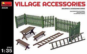 Miniart 35539 Villadge Acceessoris Diorama 1/35 Scale