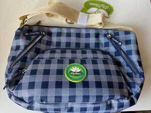 Lily Bloom Women's Blue Cross Body Bag-NWT