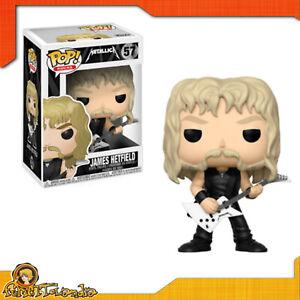 Funko Pop! Of Metallica Of James Hetfield Series Musical Rocks N°057 Original