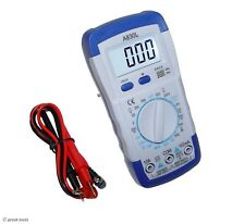 Multimeter, Digital, Dmm – electronics test equipment – volt meter - tester