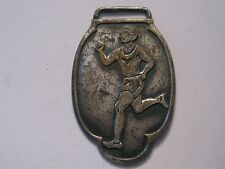 Vintage Track & Field Rumner Olympic Sport Watch Fob Medal Cross Country Race