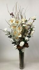 weddings Cream orchid roses Dried & Artificial Flower Bouquet GIFT NO vase