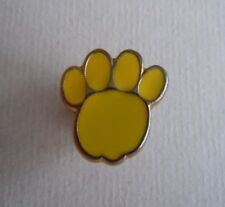 RSPCA Charity Bright Yellow Paw Print Badge