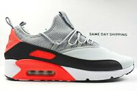 Nike Air Max 90 EZ (Mens Size 8) Shoes AO1745 002 Wolf Grey Black Multicolor