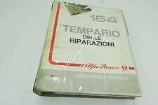 MANUAL HERRAMIENTA ESPECIAL DE REPARACIONES ALFA ROMEO 164