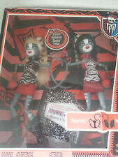monster high 1st edition meowlody & purrsephone sister twins dolls