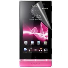 Pellicola per Sony Ericsson St25i / Xperia U, Anti Impronte, proteggischermo e a