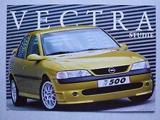 Prospekt Opel Vectra i500 Studie, 9.1997, 2 Seiten
