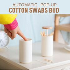 Automatic Pop-up Cotton Swabs Bud Toothpick Dispenser Case Home Decoration