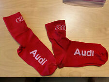 Audi DeFeet Slipstream Red Small/Medium Bicycle Cycling Shoe Covers
