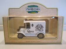 QUEEN  :  THE WHITE QUEEN - LLEDO DIE-CAST BLACK MODEL T FORD VAN + COA