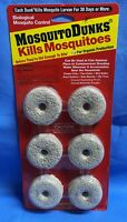 Mosquito Dunks ~ Biological Mosquito Control ~ 1 Package of 6 ~ Kills Mosquitos