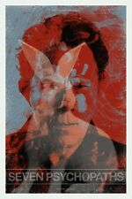 SEVEN PSYCHOPATHS TOM WAITS Limited edition print 100 TODD SLATER signed MONDO